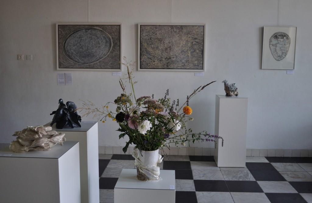Zomerkunst 't Regthuys Nieuwkoop augustus 2016 keramiek: Yvonne Mollee